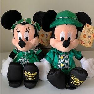 Disney Dublin Mickey and Minnie Plush
